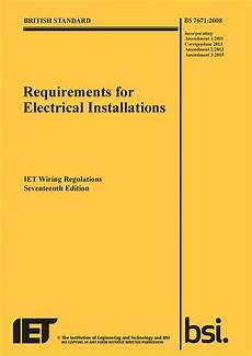 17th edition wiring regulations bs7671 3rd amendment
