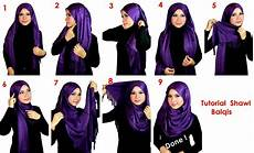 Cara Pakai Shawl With Tutorial Hijabiworld