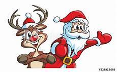malvorlagen rudolf das rentier rudolf das rentier und santa der weihnachtsmann
