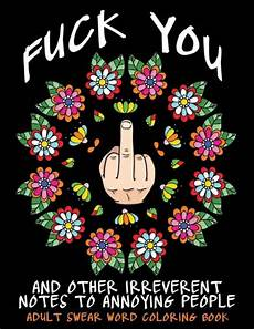 adult swear word coloring book fuck you other