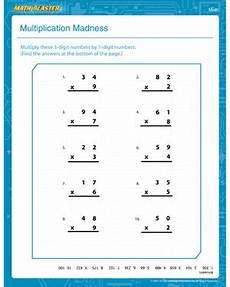 1st grade math worksheet division multiplication madness 1st grade math worksheet math