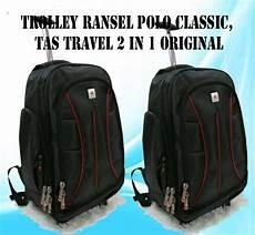 jual trolley ransel polo classic tas travel 2 in 1 original di lapak saudagar59 prasetyo59