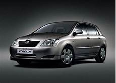 Toyota Corolla Hatch E12 Technical Specifications And