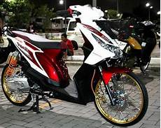 Modifikasi Sepeda Beat by 11 Foto Modifikasi Motor Beat Fi Sederhana Simple