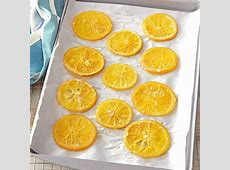 candied lime slices_image