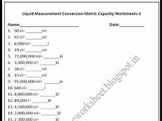 free liquid measurement worksheets 2021 grade 4 metric capacity worksheets liquid measurement conversion