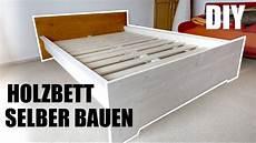 Bett Aus Massivholz Selber Bauen Wirklich Einfach