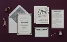 1920s Wedding Invitation