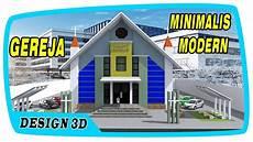 Kumpulan Mewarnai Sketsa Gambar Gereja Sederhana Desain