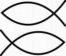 Malvorlage Fisch Christliches Symbol Je1 Auto Aufkleber Ichthys Jesus Christus Fisch Glaube