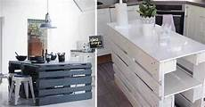 arredamento cucina fai da te isola cucina con i pallet 15 idee a cui ispirarsi