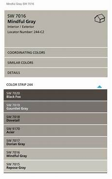 sherwin williams mindful gray color spotlight mindful gray paint colors for home paint
