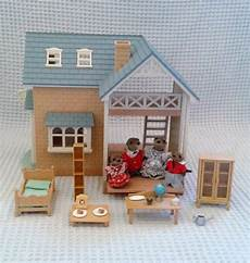 sylvanian families bluebell cottage sylvanian family bluebell riverside cottage in highbury