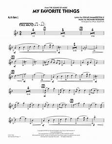 download my favorite things alto sax 1 sheet music by richard rodgers sheet music plus