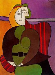 Woman Seated in a Red Armchair 1931 Picasso