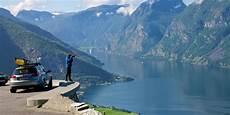Mit Dem Auto Autofahren In Norwegen
