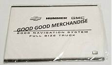 online service manuals 2008 gmc yukon xl 1500 regenerative braking 2008 gmc navigationsystem owners manual yukon yukon xl sierra 1500 2500 3500 ebay