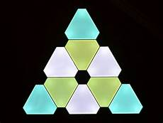 smart art the nanoleaf triangular lighting system is really neat ars technica