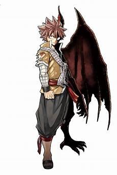 natsu dragneel half dragon render by ilagbg
