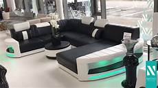 sofa led nativo m 246 bel schweiz designer sofa atlantis xxl mit led