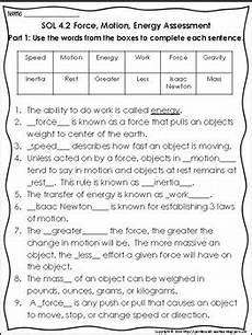4 2 force motion energy assessment tpt