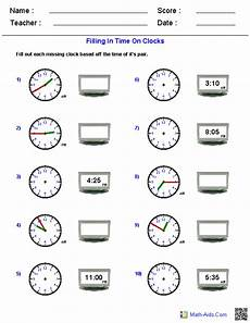 time reading worksheets 3166 pin on math aids