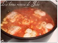 paupiettes de dinde aux chignons et 224 la sauce tomate