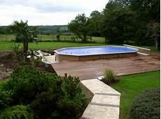 piscine sur terrain en pente piscine sur terrain en pente piscines hors sol jacuzzis