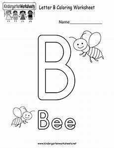 color the letter b worksheets 24028 letter b coloring worksheet this would be a coloring activity for preschool or ki letter
