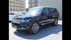 2014 Range Rover Supercharged Autobiography Start Up