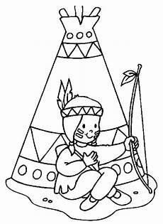 Ausmalbilder Info Indianer Indianer 1 Ausmalbilder Thanksgiving Coloring Pages