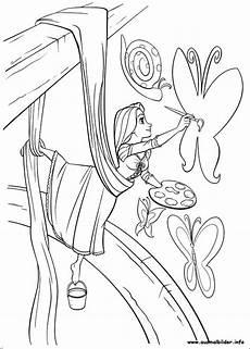 Ausmalbilder Rapunzel Malvorlagen Einfach Rapunzel Malvorlagen