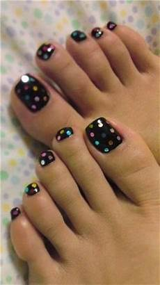 toe nail designs for new years nail art styling