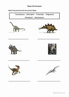 dinosaur worksheets year 1 15383 name the dinosaur worksheet free esl printable worksheets made by teachers