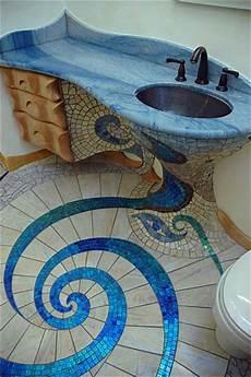 unique and amazing mosaic bathroom design home design