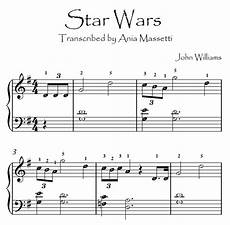 star wars williams easy piano sheet music with