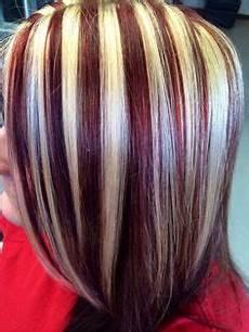 chunky highlight lowlight hair color in 2018 hair chunky highlights short hair styles