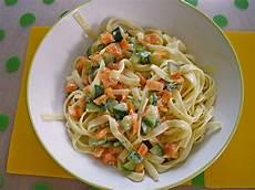 Spaghetti Mit Zucchini M 246 Hren Rahmsauce Rezept Mit Bild