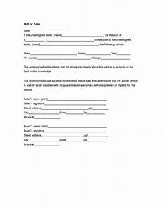 vehicle bill of sale form free download edit fill create and print wondershare pdfelement