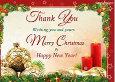 thank you and merry christmas free thank you ecards greeting cards 123 greetings