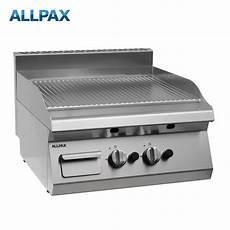 gas grillplatte eco 800 gastro gas grillplatte allpax 606 g gerillt griddleplatte
