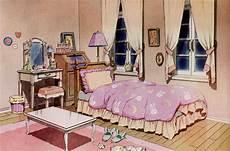mushrooomland usagi s bedroom from the sailor moon