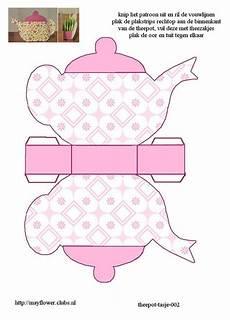 s day printable teapot 20609 pin by brei on free box prints tea crafts tea house gift box