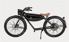 Retro E Bike - meijs motorman retro motorbike cool material
