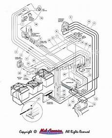 1999 club car starter wiring diagram 2000 club car wiring diagram