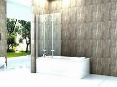Bodengleiche Dusche Mit Faltbarer Duschabtrennung