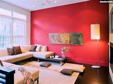 wohnzimmer streichen warme farben accent walls in living
