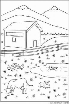 Ausmalbilder Bauernhof Pdf Ausmalbild Tiere Auf Dem Bauernhof
