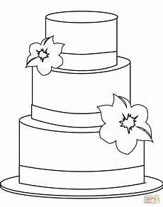 Malvorlagen Cake Ausmalbild Torte Demalvorlagen Club
