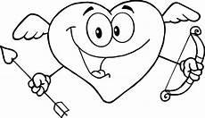 Malvorlagen Herz Mit Pfeil Muttertag Ausmalbild Herz Mit Blume Zum Ausmalen Pictures